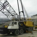 P&H 9150 150 ton lattice boom used wheel crane