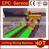 Sand dredger&Gold sand separator machine&placer gold mining equipment