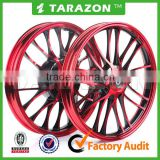 Motorcycle red CNC stunning Aluminium alloy wheels for scooter BWS 125