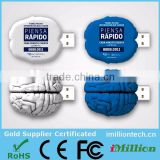 Pharma Gifts Custom Brain Shape USB Flash Drive Memory Disk