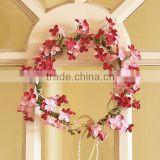 Artificial Four Leaved Clover Bridal Hair Accessory Head Wreath Garland For Wedding Prom Party And Christmas Decoration