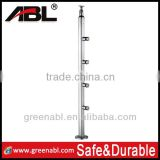 ABL SS304 stainless steel handrail fittings exterior handrail lowes balustrade in high standard quality