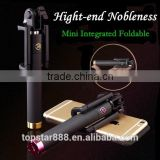 2015 Hotest High-end Blue tooth selfie stick monopod, you deserve the top quality experience of self-portrait !