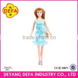 Plastic Toy Manufacturer custom fashion american girl full body black doll Fashion american girl doll