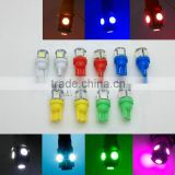 LED Light Bulb Reading Parking Light Side Wedge Tail Light Lamp 192 168 194 W5W white/blue/red/green/yellow/pink 12V