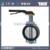 Flange Soft Seal Worm Wheel Butterfly Valve