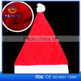 Christmas Items Wholesale Christmas Party Super soft Red White Santa Claus Christmas Hat