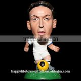 Fashionable football stars bobble head statue for collectibles