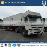 China Food Trailer Ice Cream Trailer , Used Refrigerator Trailer For Sale