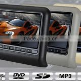 Popular universal 9inch remote control car lcd headrest monitor , AV input/output XY-7089AV