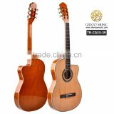 39 inch OEM brand thin body classical guitar from China guitar factory (TR-CG33-39)