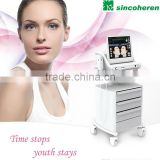 Skin Tightening Skin Tightening Hifu For Wrinkle Removal System / Skin Tightening Machine High Frequency Skin Machine