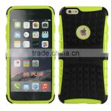 Multicolor TPU+PC Armor Spider Hybrid Kickstand Cell Phones back cover for iPhone 6/6 plus