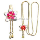 Necklace from Flower Plated
