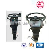 hot sale cnc machine parts for agriculatural machine/genuine leather steering wheel cover