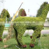 life size large top party artificial landscape uv resin plastic animal leaf alphabet letter house statue E08 23P7