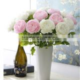 SJNP0663 Factory price wholesale peony, artificial peony flowers