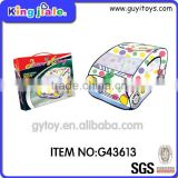 Safe material car shape kid play tent
