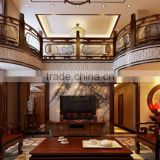 BISINI Latest Chinese Style Interior Wood Design