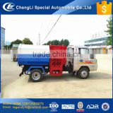 CLW hottes sale in domestic KAMA chassis 2.5 cbm 1.5 tons mini side loader garbage truck with low price