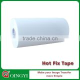 silicone hot fix rhinestone sheet tape roll