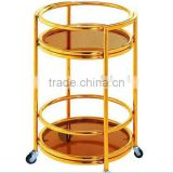 hotel liquor trolley ,hotel accessories set