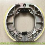 Motorcycle brake shoe for Honda CG125,weightness of 180g,ISO9001:2008
