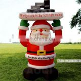 advertising Christmas inflatables Santa Clause for sale