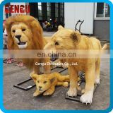 Zoo Park Decoration Life Size Animatronic Lion