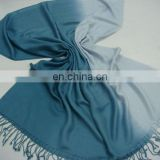 Viscose / Rayon Ombrey / De-Grade Pashmina Scarf With Fringes