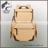 Guangzhou school suitcase Colorful Canvas Laptop Backpack