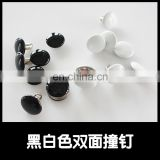 Wholesale various size metal push rivet for handbag