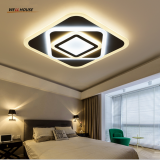 Modern LED Chandelier Lights Lamp 24w-160w dinning room/bedroom Acrylic+Metal Dimmable Pandent Hanging Chandelier