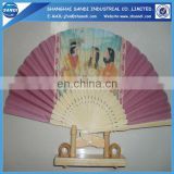customilzed advertising paper hand fan