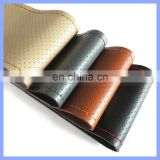 Hand Made DIY Promotion Gift Steering Wheel Case Cowhide Grain Leather Car Sets General Steering Wheel Holster Cover