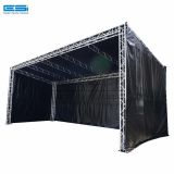 Exhibition mini light line array lift tower steel flat background spigot aluminum truss on sale