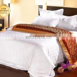 200/300/400TC best sale white 100% cotton plain bed sheet hotel