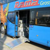 Electrical bus door ramp,electric bus wheelchair ramp(MBS200)