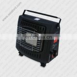 electric and gas heater