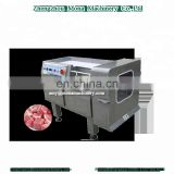 automatic stainless steel frozen meat beef vegetable cube cutting machine