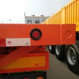 New arrival 2/3/4 axles 40ft flatbed truck semi-trailer container flatbed trailer low bed truck trailer