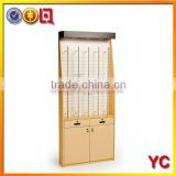 Wall mount wooden optical sunglass display case                                                                         Quality Choice