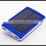10000mah dual usb output solar mobile charger, mobile phone solar charger, solar cell phone charger