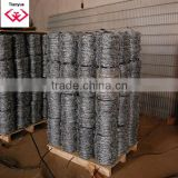 China Galvanized Barbed Wire/Stainless Steel Barbed Wire price/Anping Manufacturer with ISO9001certificate