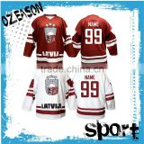 OEM Manufacturer customized ice hockey jersey set                                                                                                         Supplier's Choice
