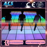 ACS hottes products for led dancing floor, wedding party Led dancing floor, rgb led light floor for sale