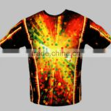 100% polyester wholesale quick dry sublimated bowling shirts