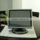 15inch tft-led panel touchscreen display monitor open frame Support Win 7.XP system 6*usb 2.0