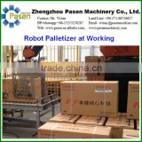 Automatic Robotic Palletizer for Cases Stacking Carton palletization (Whatsapp: +86-13213238287)