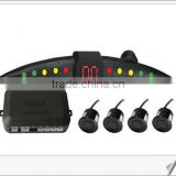 led parking sensor with 4 sensors best DV 12V Left and right obstacle indication led display parking sensor for any car